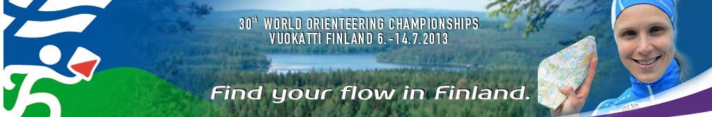 IOF World Orienteering Championships Vuokatti Finland 6.-14.7.2013